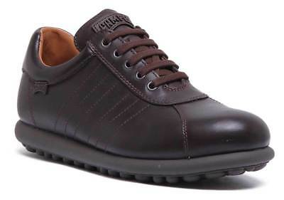 £113.99 • Buy Camper Pelotas Mens Leather Casual Trainer Shoes In Dark Brown Size UK 6 - 12