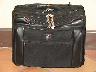 Wenger Potomac Swiss Rolling Travel Briefcase Computer Bag • 38.67£