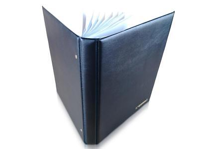 £14.99 • Buy Banknote Album SCHULZ Folder Book Pages Sleeves For Banknotes Collection [Blue]