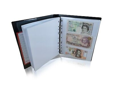 £6.99 • Buy Extra Banknote Pages Sleeves For SCHULZ Banknote Albums Collection [MULTI]