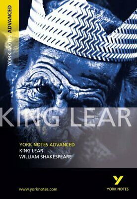 King Lear: York Notes Advanced By Shakespeare, William Paperback Book The Cheap • 2.99£