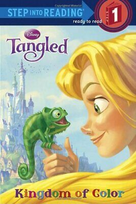 Tangled: Kingdom Of Color (Step Into Reading - Level 1 ... By Lagonegro, Melissa • 3.99£