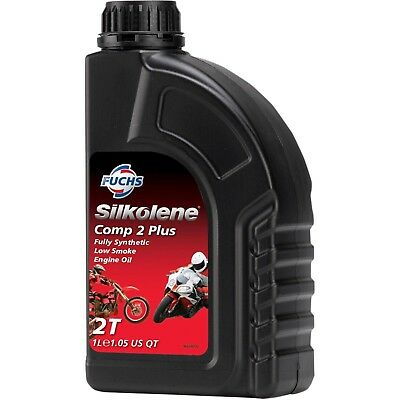 Fuchs Silkolene Comp 2 Plus Fully Synthetic 2 Stroke High Performance Motorcy... • 19.99£