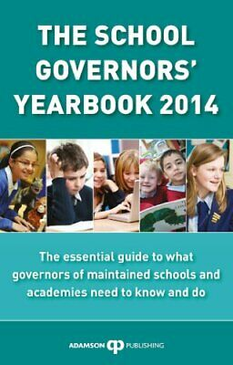 The School Governors' Yearbook 2014 By Various Book The Cheap Fast Free Post • 5.99£