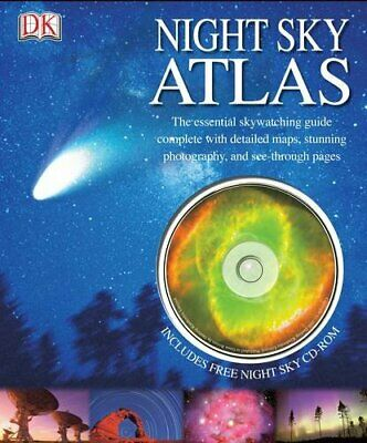 £3.99 • Buy Night Sky Atlas: With CD-ROM By Lpp Hardback Book The Cheap Fast Free Post