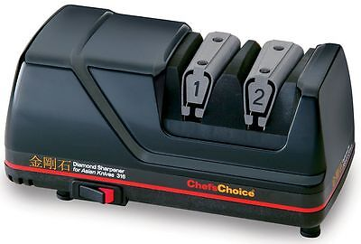 $84.99 • Buy Chefs Choice Diamond Hone Electric Knife Sharpener 15° Knives Asian Style 316