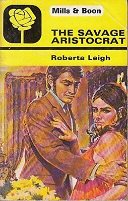 Savage Aristocrat By Leigh, Roberta Paperback Book The Cheap Fast Free Post • 12.99£