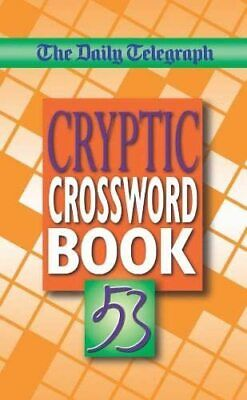 £7.99 • Buy Daily Telegraph Cryptic Crosswords Book 53 By Telegraph Group Limited Paperback