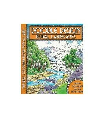 Rural Landscapes (Doodle Design) Paperback Book The Cheap Fast Free Post • 3.99£