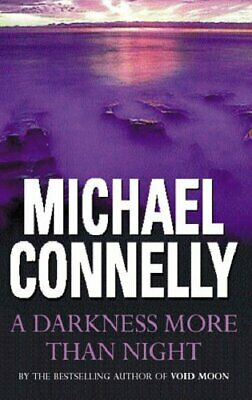 £2.69 • Buy Darkness More Than Night By Connelly, Michael Book The Cheap Fast Free Post