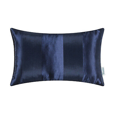 $ CDN8.46 • Buy Rectangle Bolster Pillow Case Cover Home Decor Stripes Geometric Jacquard 12x20