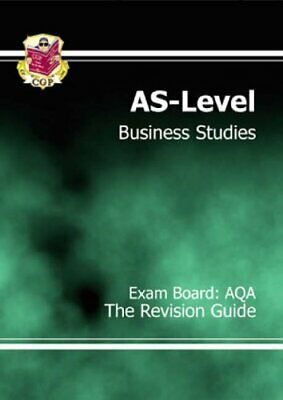 AS -Level Business Studies AQA Revision Guide By CGP Books Paperback Book The • 3.99£