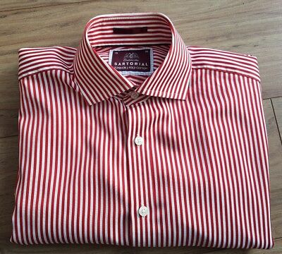M&S Sartorial Shirt. Collar Size 15 . Very Good Used Condition • 12.99£