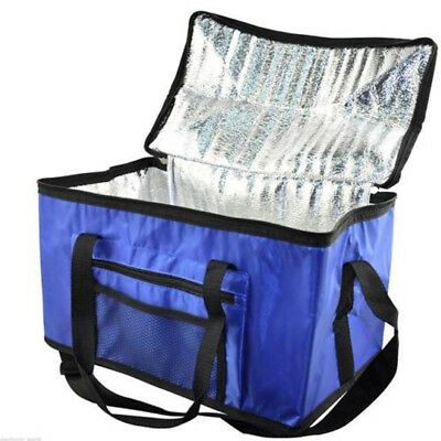 28l Extra Large Cooling Cooler Cool Bag Box Picnic Camping Food Ice Drink Lunch • 7.95£