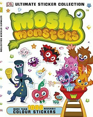 Moshi Monsters Ultimate Sticker Collection (Ultimate Stickers) By DK Book The • 5.99£