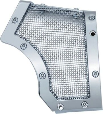 Kuryakyn Chrome Mesh Cage Front Drive Pulley Cover Bobber Harley Sportster 04-17 • 116.99$