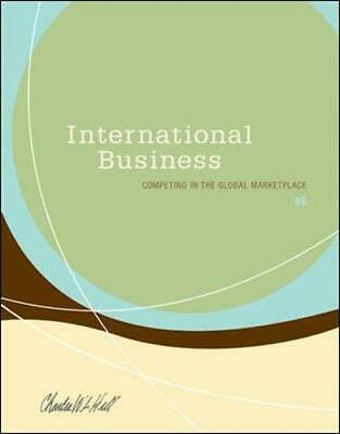 £6.49 • Buy International Business By Hill, Charles W. L. Hardback Book The Cheap Fast Free