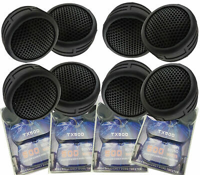 $ CDN19.71 • Buy 4 Pairs Of  New Model 1000W Total Super High Frequency Mini Car Tweeters US Ship