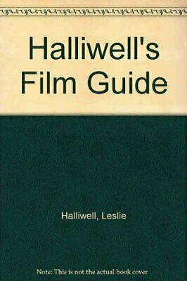 £3.99 • Buy Halliwell's Film Guide (Paladin Books) By Halliwell, Leslie Hardback Book The