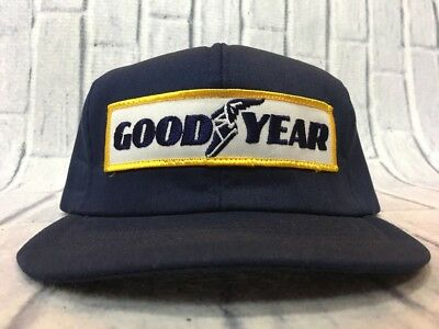 2b7c285c08b 80s VTG Nos GOODYEAR TIRE SWINGSTER TRUCKER PATCH SnapBack Hat Made USA  Racing • 29.99