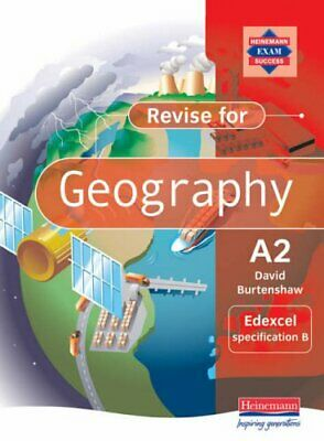 £11.99 • Buy Revise A2 Level Geography For Edexcel Speci... By Burtenshaw, Mr David Paperback