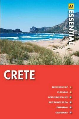 Essential Crete (AA Essential Guide) By AA Publishing Paperback Book The Cheap • 5.99£