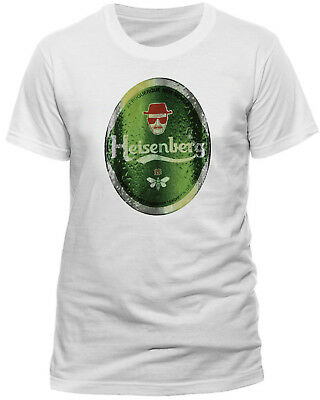 Official Breaking Bad Heisenberg Heineken T-shirt Walter White Unisex Medium XL • 9.98£