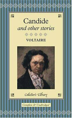 Candide And Other Stories (Collector's Library) By Voltaire Hardback Book The • 10.99£