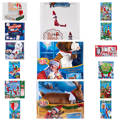 AU18.28 • Buy The Elf On The Shelf® BRAND NEW OFFICIAL ELF, ELF PETS AND ACTIVITY PACKS