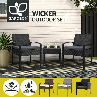 AU169.90 • Buy 【EXTRA20%OFF】Gardeon Outdoor Furniture Setting Chairs Patio Chair Table Garden