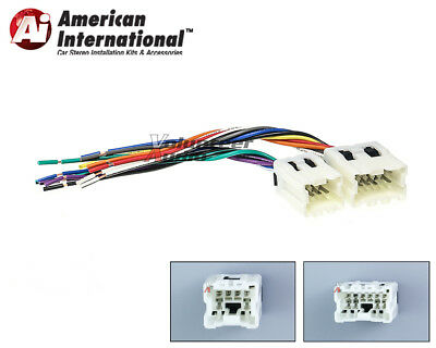 $7 • Buy Car Stereo CD Player Wiring Harness Adapter Cable Aftermarket Radio Install Plug