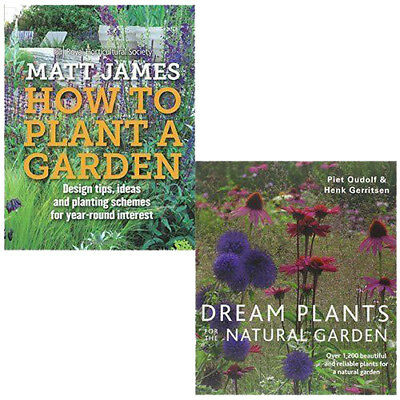 £26.99 • Buy RHS How To Plant A Garden And Dream Plants 2 Books Collection Pack Set NEW