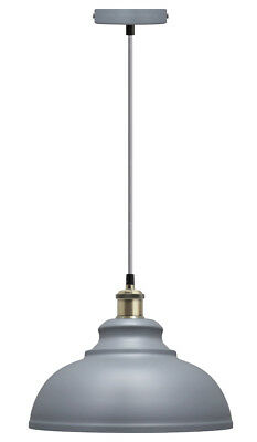 Vintage Industrial Metal Ceiling Pendant Shade Modern Hanging Retro Light M0089 • 19.99£