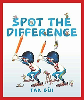 £9.99 • Buy Spot The Difference By Bui, Tak Book The Cheap Fast Free Post