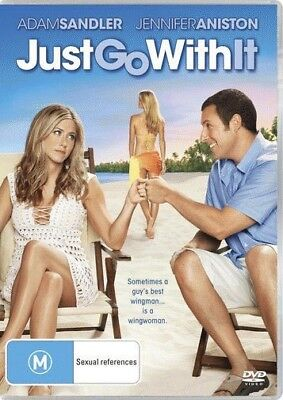 AU15.89 • Buy Just Go With It = NEW DVD R4
