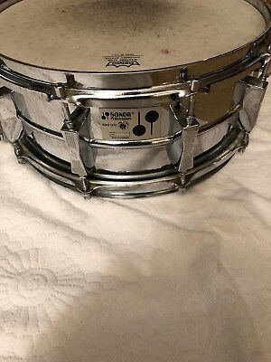 $540 • Buy Sonor D-505 Phonic Snare Drum 5.75 X 14  Ferromanganese D505