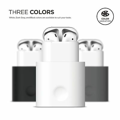 AU11.69 • Buy For Apple Airpods Stand Charging Dock Desk Station Non-Toxic Silicone Holder