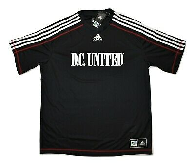 c33f776807e Adidas MLS Mens D.C. United Climalite Soccer Football Jersey NWT XL
