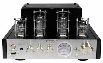 View Details Rockville BluTube 70w Tube Amplifier/Home Theater Stereo Receiver W/ Bluetooth • 149.95$
