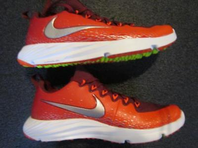 Nike Vapor Speed LAX Trainer Turf Shoes Cleats Sz 9.5 Destroyer Nubby Red •  54.45  01d2c973a