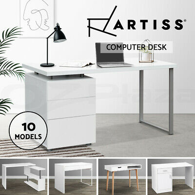 AU192.95 • Buy Artiss Office Computer Desk Student Study Table Home Workstation Corner Shelf