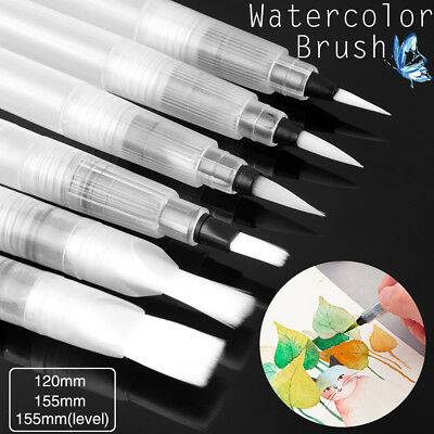 $7.99 • Buy Water Coloring Brush Pens, Set Of 6 Brush Tips For Watercolor Painting