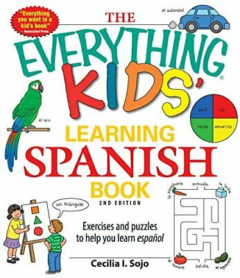 £6.49 • Buy The Everything Kids Learning Spanish Book 2nd E... By Sojo, Cecilia I. Paperback