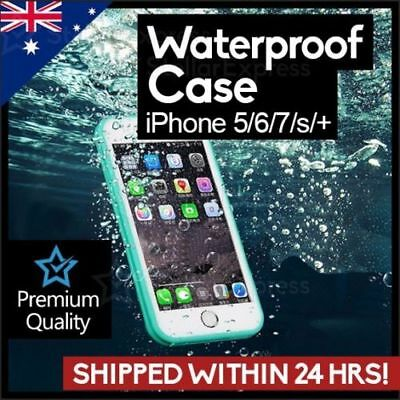 AU7.99 • Buy Waterproof Shockproof Heavy Duty Case Cover For IPhone 5/6/7/8/+/S