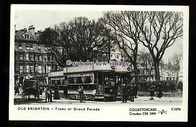 £2 • Buy Pp2399 - Sussex - Trams Along The Grand Parade, In Brighton - Pamlin Postcard