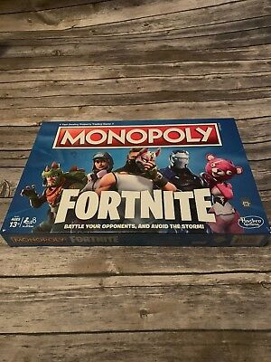 $13.25 • Buy Monopoly Fortnite Edition Board Game! Brand New! Epic Games, Survive The Storm!