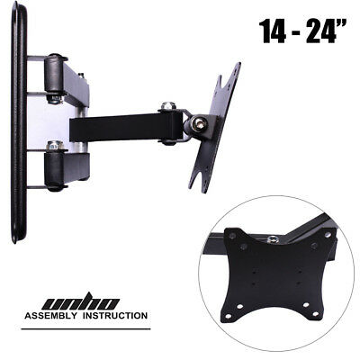 £8.97 • Buy Wall Mount Monitor Stand LED LCD 14 -24  TV Bracket Articulating For Acer BenQ