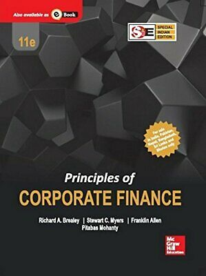 £100.99 • Buy PRINCIPLES OF CORPORATE FINANCE, 11TH EDITION By RICHARD A. BREALEY, STEWART C.