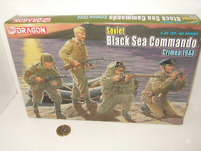 Dragon 6457 Soviet Black Sea Commando Crimea 1944 Model Kit In 1:35 Scale • 13.85£