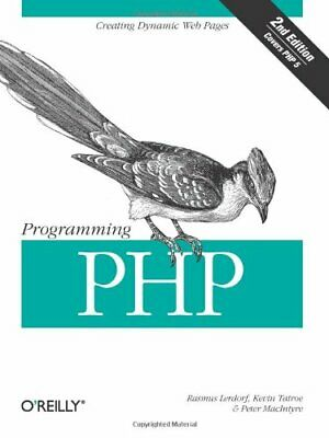 £4.99 • Buy Programming PHP By Peter MacIntyre Paperback Book The Cheap Fast Free Post